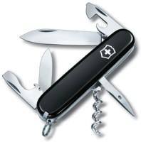 Victorinox Spartan 12 Tool Multi-utility  Swiss Knife (Black)