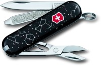 Victorinox 0.6223.L1503 7 Function Multi Utility Swiss Knife (Black)