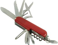 FCS Structural 11 Tool Multi-utility  Swiss Knife (Red)