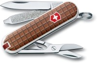 Victorinox 0.6223.842 - Classic Chocolate 7 Function Multi Utility Swiss Knife (Chocolate)