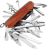 Victorinox Champ Hardwood 32 Tool Multi-utility Swiss Knife (Brown)