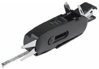 MK Multipurpose 10 Function Multi Utility Swiss Knife (Black)