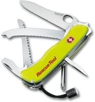 Victorinox Victorinox Swiss Army Knife -Rescue Tool 15 Function Multi Utility Swiss Knife (Yellow Luminescent)