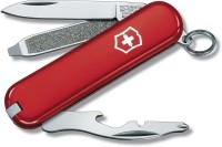 Victorinox Rally Original 9 Tool Multi-utility  Swiss Knife (Red)
