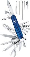 Victorinox Champ Translucent 32 Tool Multi-utility Swiss Knife (Blue)