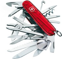 Victorinox Champ Translucent 32 Tool Multi-utility Swiss Knife (Red)