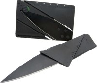 Skys&Ray Card Pattern Knife 1 Tool Multi-utility  Swiss Knives (Black)