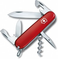 Victorinox 1.3603 - Spartan Red 12 Function Multi Utility Swiss Knife (Red)