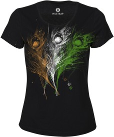 Huetrap Graphic Print Women's Round Neck T-Shirt