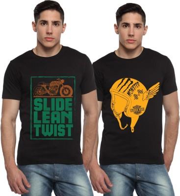 ADRO Printed Men's Round Neck T-Shirt