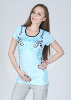 Proline Printed Women's Round Neck T-Shirt