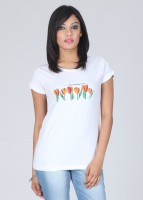 Tantra Printed Women's Round Neck T-Shirt