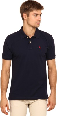 Stalwart Solid Men's Polo Neck T-Shirt