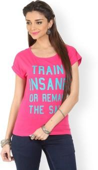 Max Printed Women's Round Neck T-Shirt - TSHE49ZGNKYV5DRE