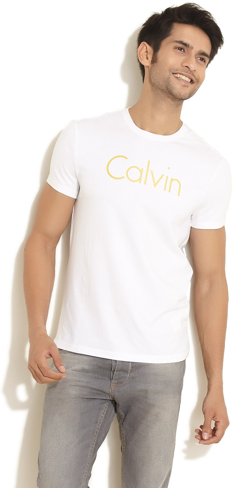 c08ce485d02 Buy Calvin Klein Jeans Printed Men s Round Neck T-Shirt   ₹ 1399 by Calvin  Klein Jeans from Flipkart