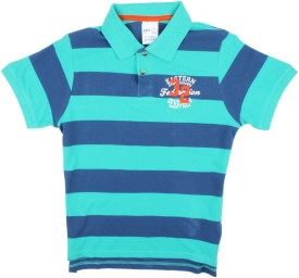 Max Striped Girl's Polo T-Shirt