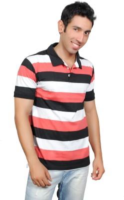 Brand Teez Striped Men's Polo T-Shirt