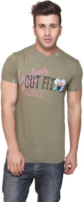 Aventura Outfitters Printed Men,s Round Neck T-Shirt
