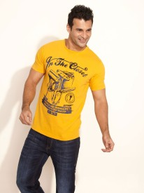 In The Closet Printed Men's Round Neck T-Shirt
