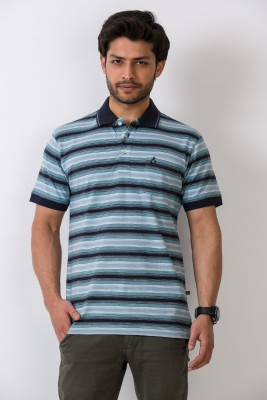 Alx New York Striped Men's Polo T-Shirt