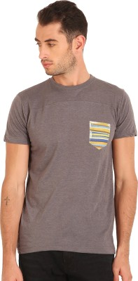 Sting Solid Men's Round Neck T-Shirt