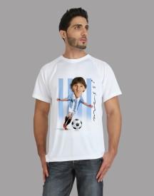 Trionic Printed Men's Round Neck T-Shirt