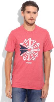 Reebok Classics Printed Men,s Round Neck T-Shirt
