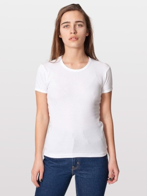Pearl Woven Women's Round Neck T-Shirt