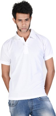 Whistle Solid Men's Polo Neck T-Shirt