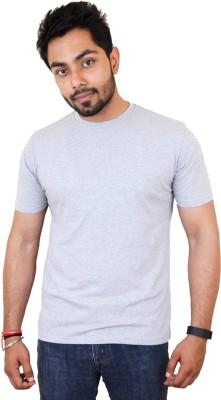 Fashion18 Solid Men's Round Neck T-Shirt