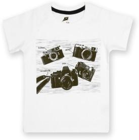 Yellow Kite Printed Girl's T-Shirt