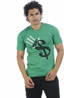 Adventure Printed Men's Round Neck T-Shirt