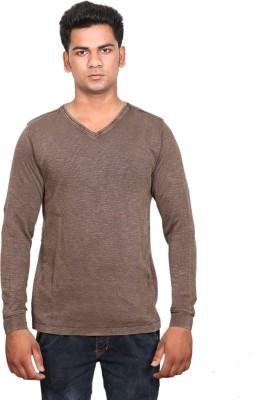 Alpha Scott Solid Men's Henley T-Shirt