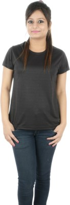 Nivia Solid Women's Round Neck T-Shirt