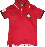 FS Mini Klub Printed Baby Boy's Polo T-Shirt
