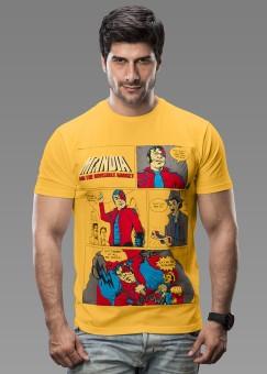 Imagica Printed Men Round Neck Tshirt