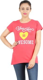 Ymfonline.Com Printed Women's Round Neck T-Shirt