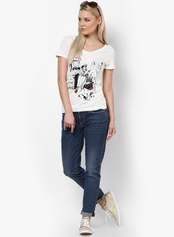 Vero Moda Graphic Print Women's Round Neck T-Shirt