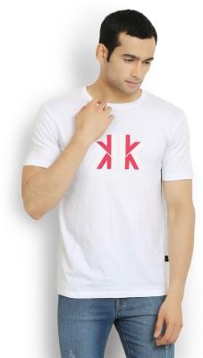 Stanley Kane Printed, Solid Men's Round Neck T-Shirt
