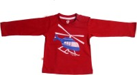 Baby League Printed Baby Boy's Round Neck T-Shirt