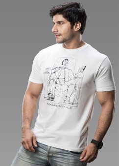 Imagica Printed Men Round Neck Tshirt
