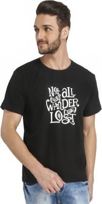 Castor Printed Men's Round Neck T-Shirt