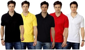Top Notch Solid Men's Polo Multicolor T-Shirt