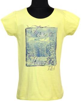 Tales & Stories Graphic Print Girl's Round Neck T-Shirt - TSHE2EFBYKHNJGJM