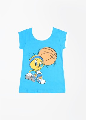 Tweety Tweety Printed Girl's Round Neck T-Shirt (Yet To Be Reviewed)
