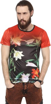 Yepme Printed Men's Scoop Neck T-Shirt