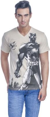 Batman Printed Men,s V-neck T-Shirt
