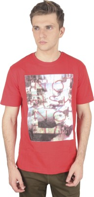 Cayman Printed Men's Round Neck T-Shirt