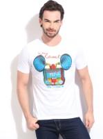 In The Closet Printed Men's Round Neck T-Shirt - TSHDTR7ZWPU8F43G