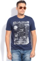 Lee Cooper Printed Men's Round Neck T-Shirt